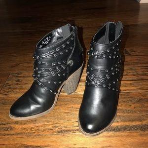 Francesca's heels/booties